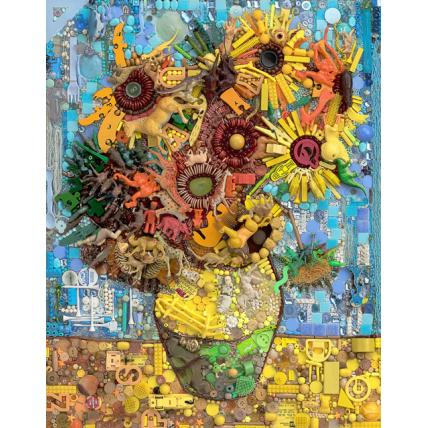 Sunflowers, after Van Gogh