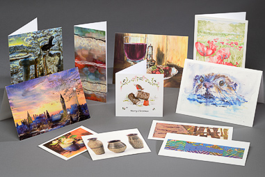 Digitally printed postcards & greetings cards